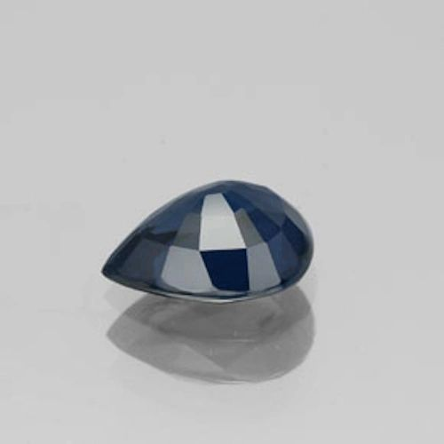 PEAR FACETED AA BRIGHT (MIDNIGHT) BLUE (NATURAL) PRECIOUS SAPPHIRE (5x3-6x4mm)
