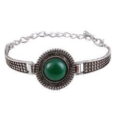 Woman's Thai Silver Plated Bracelet