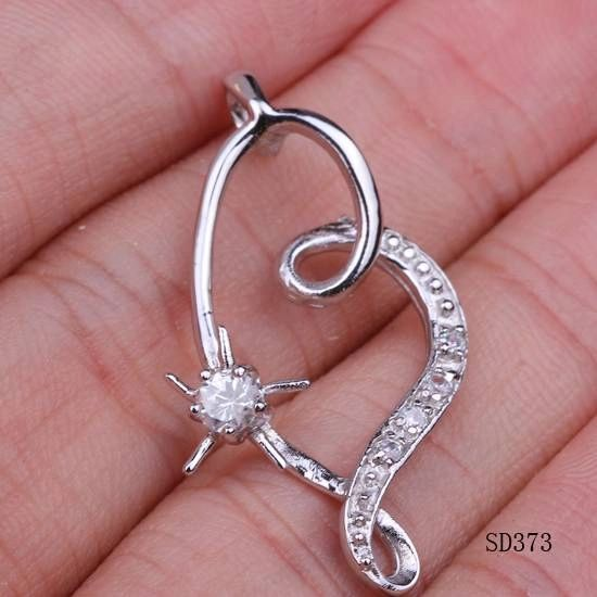 Silver Plated Gallant Necklace 's Pendant