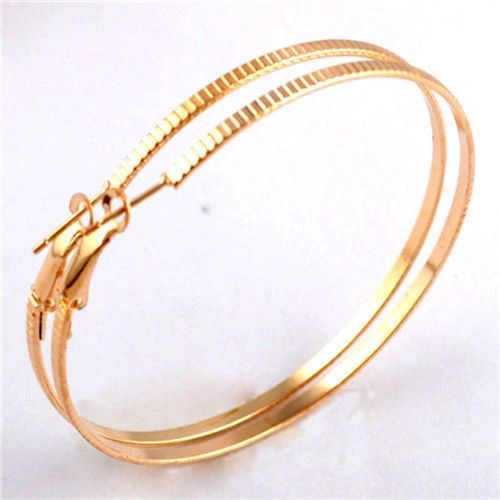 14kt Yellow Gold Filled Large (60mm) Hoop Earrings