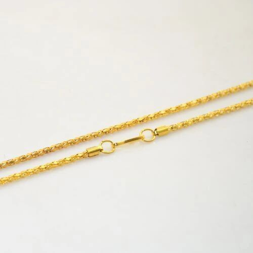 "16.5"" Yellow Gold Plated Snake Chain"