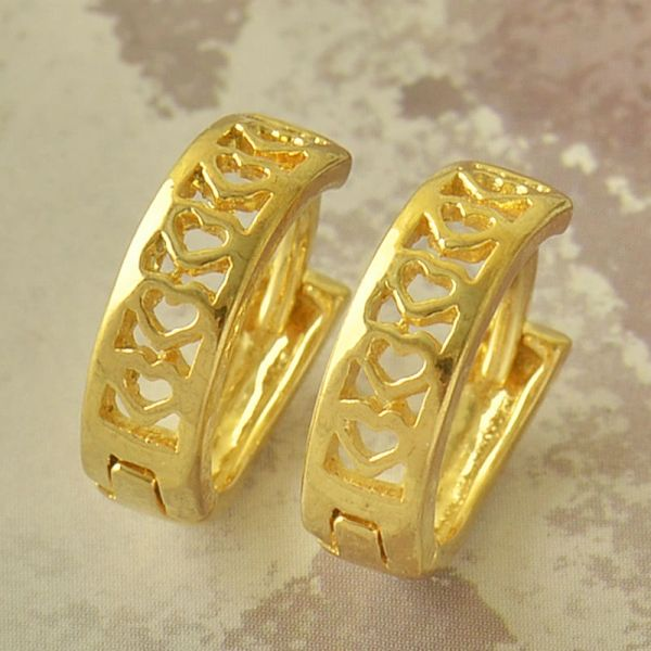 14kt Yellow Gold Filled Small (13.4mm) Hoop Earrings