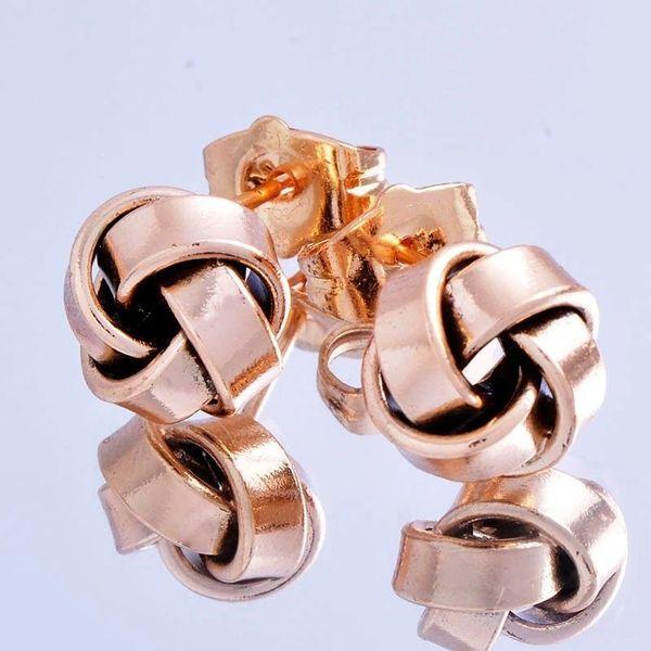18kt Rose Gold Filled Stud Earrings
