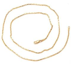"14kt Yellow Gold Filled 24"" Fancy Chain With Lobster Claw Clasp"
