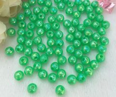 150 Pieces 6mm Round Acrylic Spacer Beads