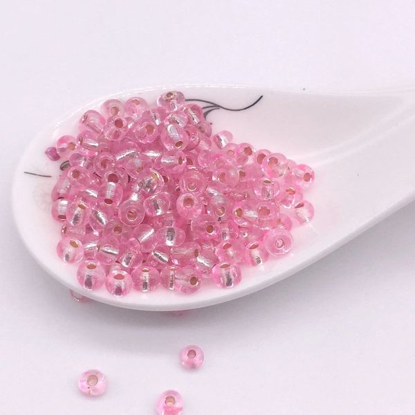 100 Pieces 4mm Round Shiny Czech Glass Spacer Beads