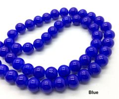 50 Pieces 6mm Round High Gloss Glass Czech Beads
