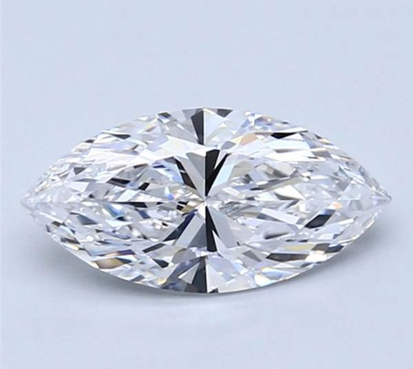 MARQUISE FACETED AAA BRIGHT WHITE (NATURAL) DIAMOND
