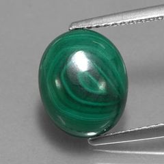 Masterpiece Collection: Oval Genuine (Natural) Malachite (6x4mm - 18x13mm)