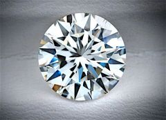 ROUND FACETED AAAAA RATED GLACIER WHITE CUBIC ZIRCONIA (1-17mm)