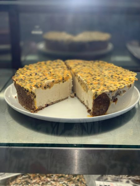 PASSIONFRUIT RAW CAKE - Pick up & local delivery only