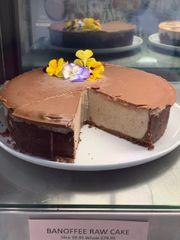 Banoffee Raw Cake