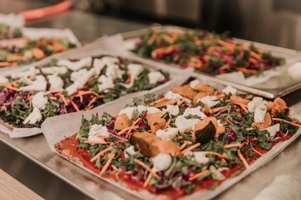PIZZA WITH TOPPINGS & NUTRI-MIGHT - Pick up & local delivery only