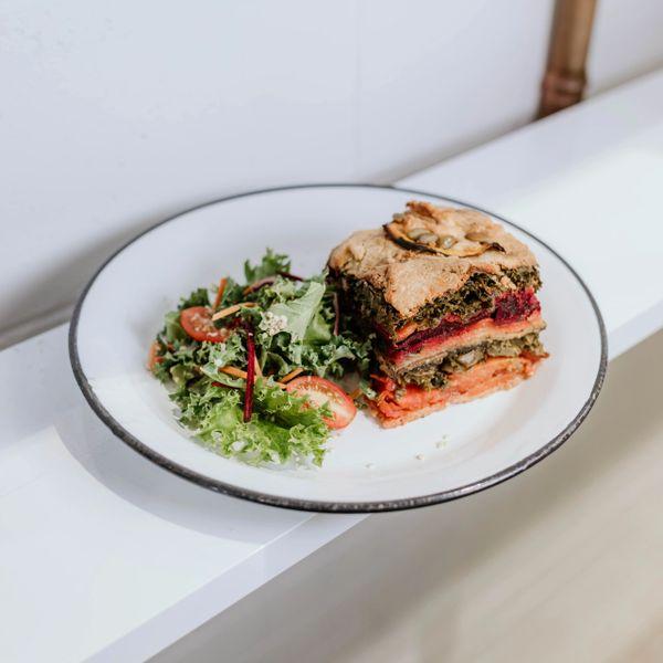 Vegetable Stack slice