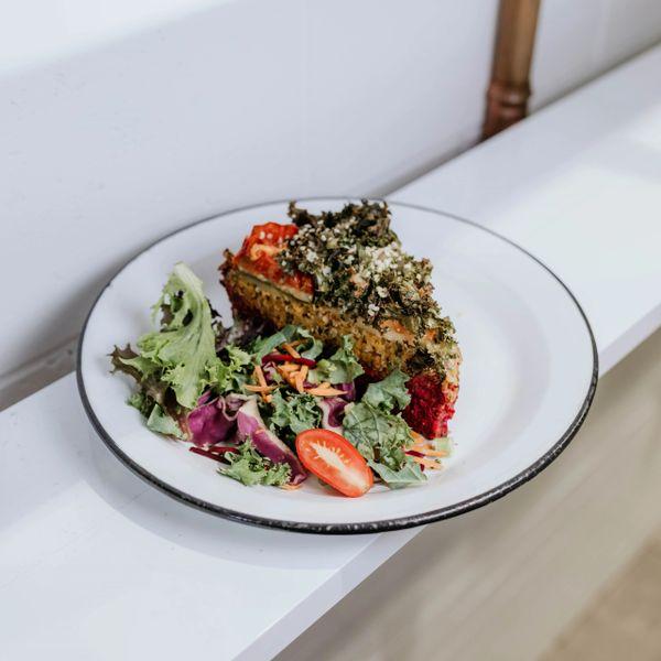 Hearty Hemp Vegetable Slice