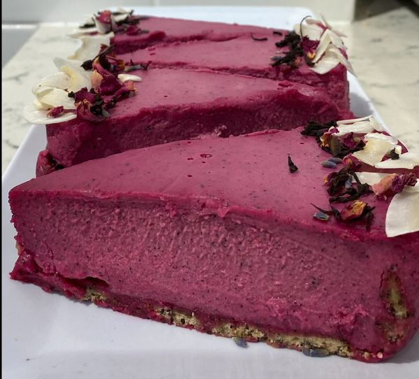 DRAGON FRUIT RAW CAKE (pick up only)