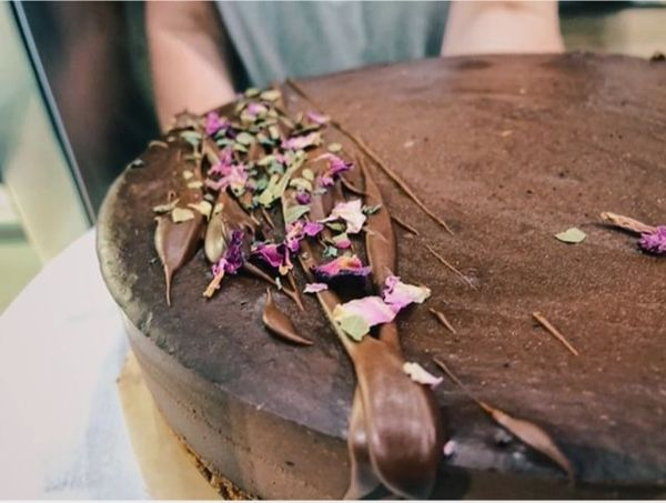 CACAO RAW CAKE - Local delivery and Pick up only