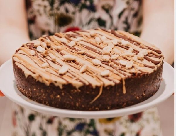 PEANUT BUTTER RAWCAKE - Pick up & local delivery only