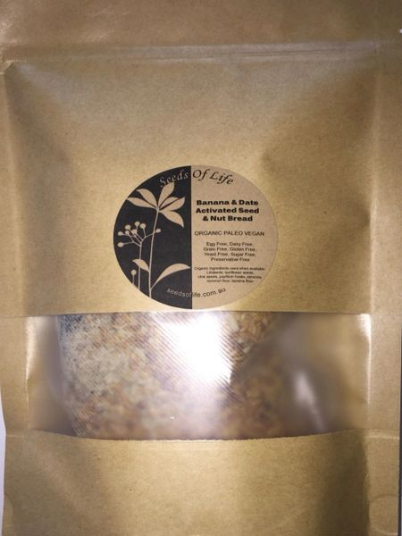 BANANA & DATE ACTIVATED SEED - Premix 490g