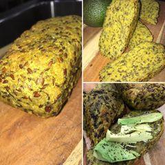 TURMERIC SEED BREAD BAKED 1 kilo
