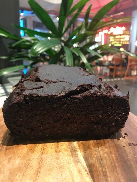 CHOCOLATE BANANA CAKE (nut free) 1 kg