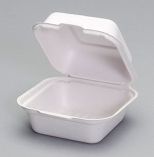 Harvest Fiber - Compostable Medium Sandwich Container - 500/CS
