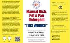 En Kay Manual Dish Pot & Pan Detergent 4L - 4/CS