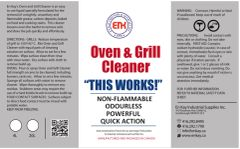 En Kay Oven & Grill Cleaner 1L - 12/CS
