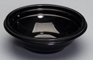 Silhouette Black 12Oz Plastic Bowls - [CW012B] - 200/CS