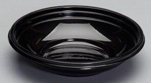 Silhouette Black 24Oz Plastic Bowls - [CW024B] - 200/CS