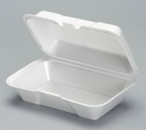 Foam Hinged Small Deep All Purpose Container - [21700] - 500/CS