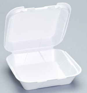 Foam Hinged Medium Snap-It Dinner Container - [SN240] - 200/CS