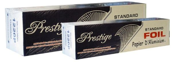 "Aluminum Foil Rolls - Prestige - 12"" x 656'"