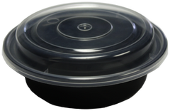 "Microwavable Container - 6"" Round - [Lung Sang]"
