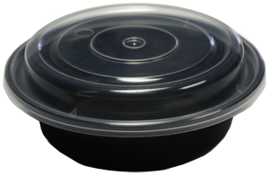 """Microwavable Container - 6"""" Round - [Lung Sang]"""