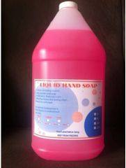 Sprakita Pink Liquid Hand Soap - 4 x 4L /CS