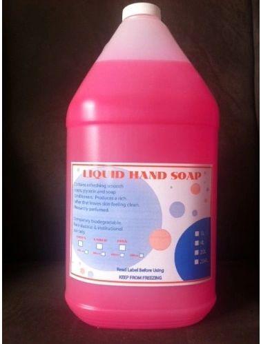 Sprakita Pink Liquid Hand Soap - 4 x 4L /CS