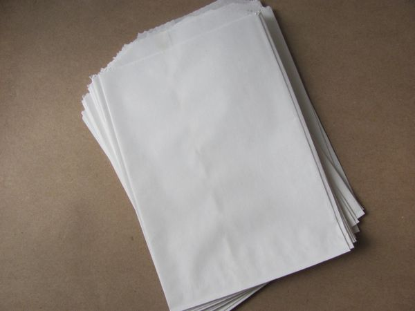 White Lunch Paper Bags - 500/PK