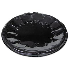 "Caterware - 12"" Black Flat - [9812K] - 50/Cs"