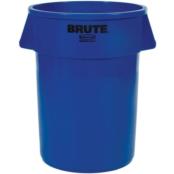 Rubbermaid - 1779732 - BRUTE 55 Gallon Blue Trash Can