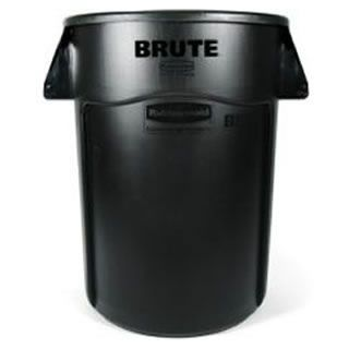 Rubbermaid - 1779739 - BRUTE 55 Gallon Black Trash Can