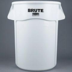 Rubbermaid - 1779740 - BRUTE 44 Gallon White Trash Can