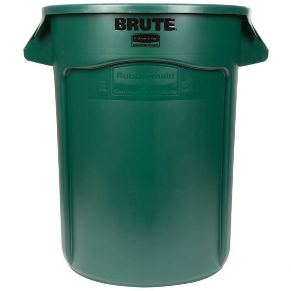 Rubbermaid - 1779741 - BRUTE 44 Gallon Dark Green Trash Can