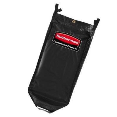 Rubbermaid - 1851454 - Executive High Capacity Vinyl Bag - Black