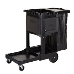 Rubbermaid - 1861430 - Executive Janitorial Traditional Cleaning Cart