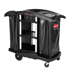 Rubbermaid - 1861441 - Executive Janitorial Cleaning and Recycling Cart - High Capacity