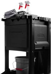Rubbermaid - 1861443 - Executive Janitorial Traditional Cleaning Cart Locking Cabinet Door Kit