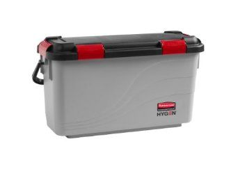 Rubbermaid - 1863892 - Executive Rubbermaid HYGEN Microfiber Charging Mop Bucket