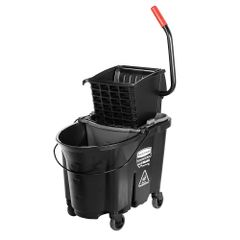 Rubbermaid - 1863896 - Executive WaveBrake Side Press Mop Bucket