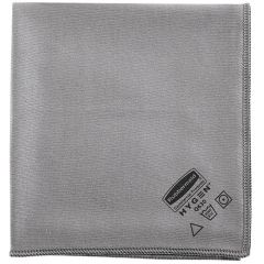 "Rubbermaid - 1867398 - Executive 16"" Glass Microfiber Cloth, Gray"